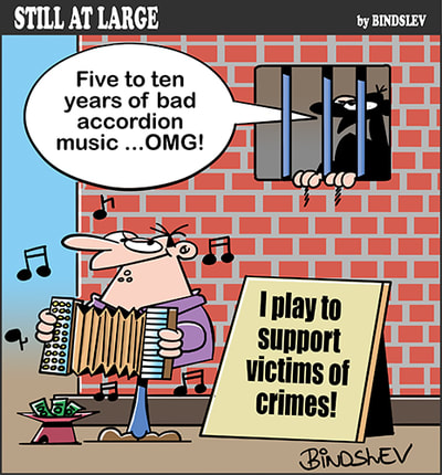 Crime - accordion music