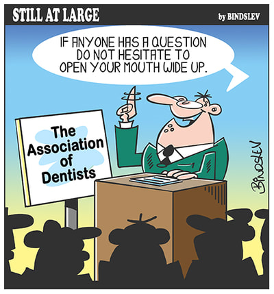 dentists - open mouth